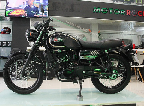 Đại lý bán Kawasaki W175 độ giá từ 72 triệu đồng ở TP.HCM