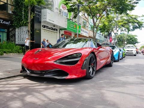McLaren 720S dep long lanh xuong pho Sai Gon hinh anh