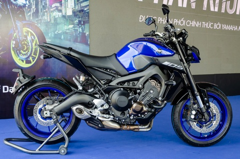 Yamaha MT-09 chính hãng về Việt Nam, giá 299 triệu đồng