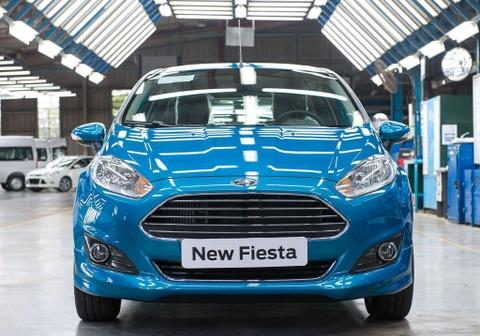 Ford Fiesta dung san xuat o Viet Nam sau 7 nam hinh anh