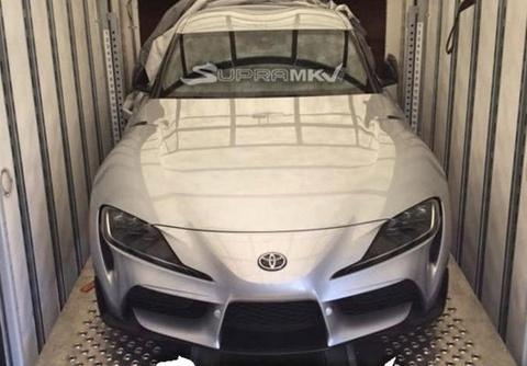 Rò rỉ hình ảnh Toyota Supra 2020