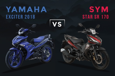 Dong co 174,5 cc, SYM Star SR co manh hon Yamaha Exciter? hinh anh