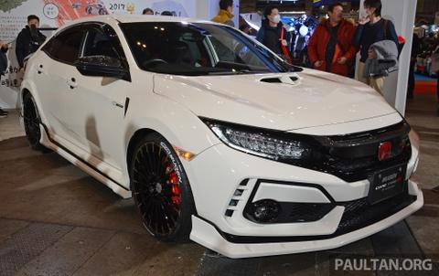 Honda Civic Type R lột xác với body-kit chính hãng