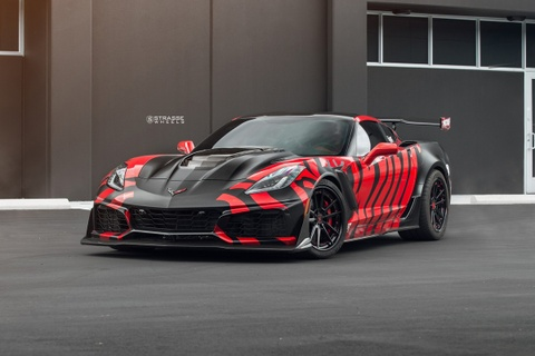 Ban do Chevrolet Corvette ZR1 'manh ho' manh hon 750 ma luc hinh anh