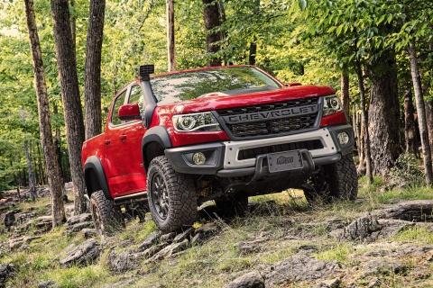Phiên bản đắt nhất của Chevrolet Colorado giá gần 50.000 USD