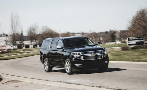 Chevrolet Suburban: 'Manh tuong' trong doan xe bao ve Donald Trump hinh anh 11