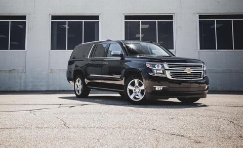 Chevrolet Suburban: 'Manh tuong' trong doan xe bao ve Donald Trump hinh anh 10