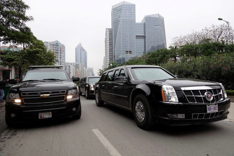 Chevrolet Suburban: 'Manh tuong' trong doan xe bao ve Donald Trump hinh anh 5