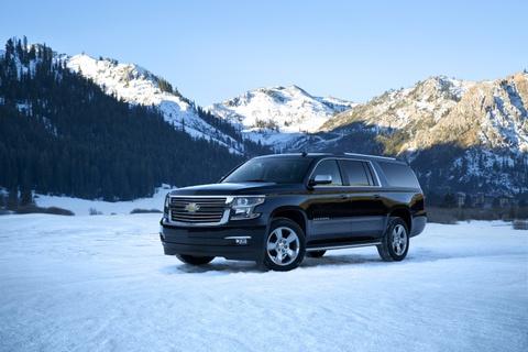 Chevrolet Suburban: 'Manh tuong' trong doan xe bao ve Donald Trump hinh anh 12