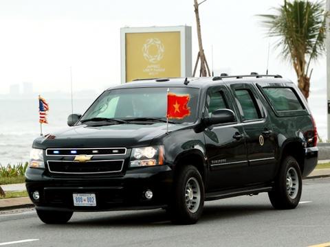 Chevrolet Suburban: 'Manh tuong' trong doan xe bao ve Donald Trump hinh anh 7