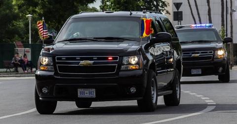 Chevrolet Suburban: 'Manh tuong' trong doan xe bao ve Donald Trump hinh anh 8