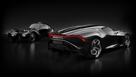 Sieu xe Bugatti La Voiture Noir gia 12,5 trieu USD doc nhat vo nhi hinh anh 2