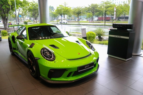 Chi tiet Porsche 911 GT3 RS gia gan 14 ty dong tai VN hinh anh 2