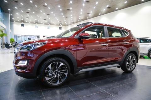Can canh Hyundai Tucson 2019 - thay ngoai hinh, tang gia ban hinh anh 13