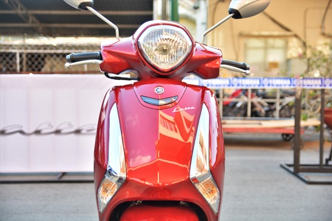 Xe tay ga cho nu: Yamaha Latte qua kho de gay ap luc len Honda Lead? hinh anh 3