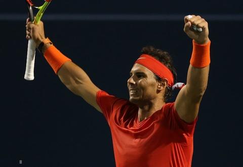 Nadal vuot kho, vao chung ket Rogers Cup hinh anh