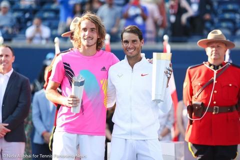 Nadal len ngoi tai Rogers Cup trong ngay sinh nhat cua doi thu hinh anh