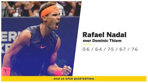 Highlights: Nadal dai chien 5 set voi Dominic Thiem tai My mo rong hinh anh