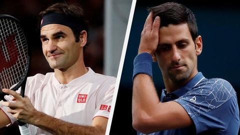 Highlights Djokovic vs Federer: Thu hung kich tinh tai ban ket Paris hinh anh