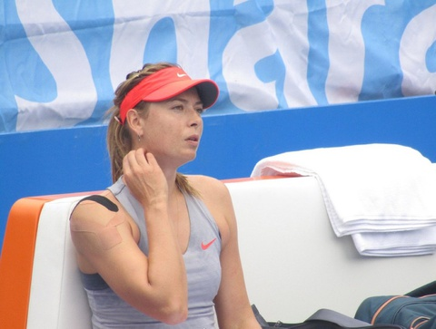 Maria Sharapova bo cuoc tai giai dau o Trung Quoc hinh anh