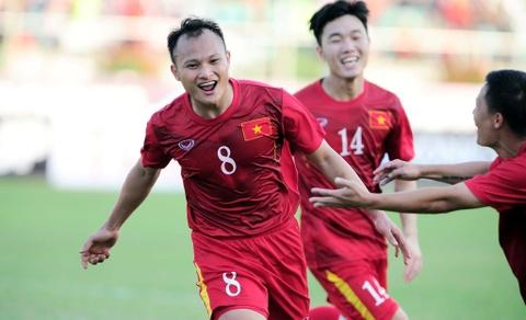 Trong Hoang la cau thu Viet Nam dat gia nhat tai Asian Cup hinh anh