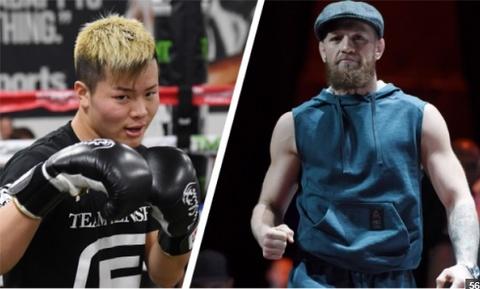 McGregor thach dau than dong kickboxing Nhat Ban hinh anh