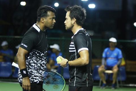 Huyen thoai danh doi Leander Paes vao chung ket Vietnam Open 2019 hinh anh