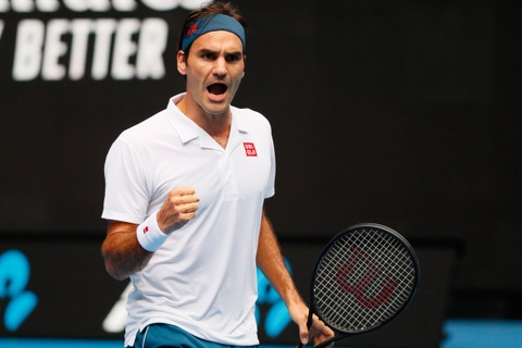 Roger Federer co chien thang vat va truoc doi thu hang 189 the gioi hinh anh