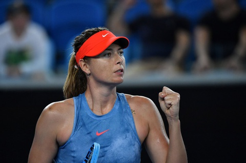 Thang ap dao, Sharapova hen gap Wozniacki tai vong 3 Australian Open hinh anh