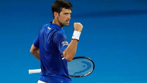Highlights vong 2 Australian Open: Djokovic vs Tsonga hinh anh