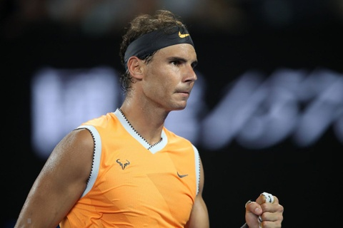 Rafael Nadal thang tien ban ket Australian Open hinh anh