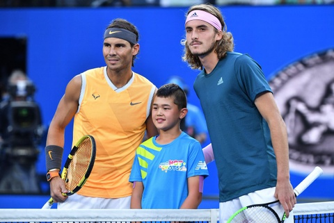 Highlights ban ket Australian Open: Rafael Nadal vs Stefanos Tsitsipas hinh anh