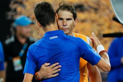 Vo dich Australian Open, Djokovic dong cam voi chan thuong cua Nadal hinh anh