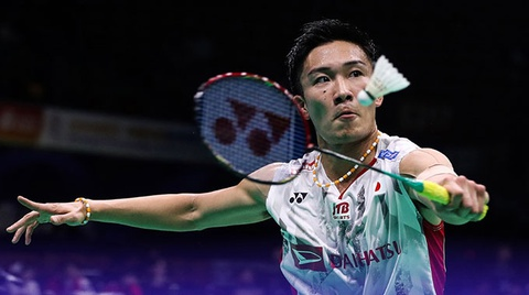 Highlights ban ket Indonesia Masters: Kento Momota vs Viktor Axelsen hinh anh