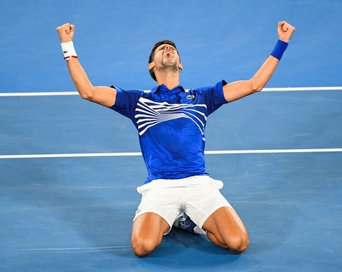 Novak Djokovic va lan thu 7 ky vi tai Australian Open hinh anh