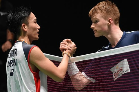 Highlights chung ket Indonesia Masters: Momota vs Antonesen hinh anh
