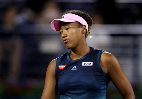 Highlights vong 2 Dubai Open: Naomi Osaka 0-2 Kristina Mladenovic hinh anh