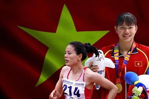 Viet Nam thang Thai Lan trong cuoc dua vi tri thu 2 tai SEA Games hinh anh