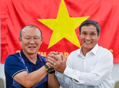 Thay Park, HLV Mai Duc Chung than thiet sau ky SEA Games lich su hinh anh
