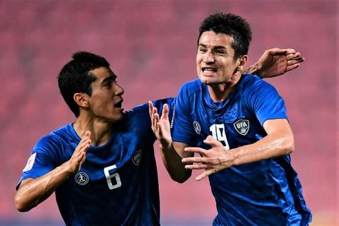De bep UAE 5-1, U23 Uzbekistan gianh quyen vao ban ket chau A hinh anh