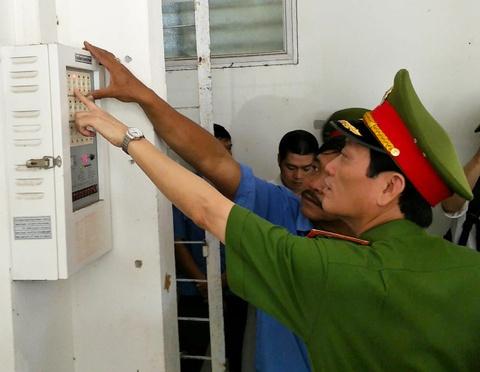 Bo Cong an phat hien nhieu bat cap trong PCCC o Da Nang hinh anh
