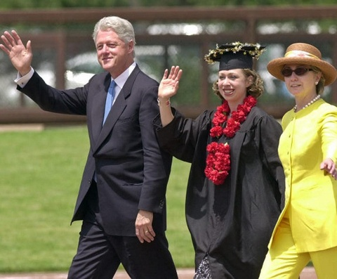 Con gai ong Bill Clinton co bang tien si Dai hoc Oxford hinh anh
