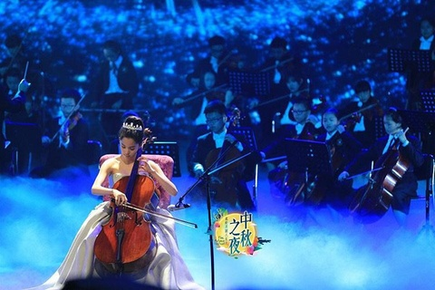 'Cong chua Cello' trinh dien trong Dem hoi mua xuan hinh anh