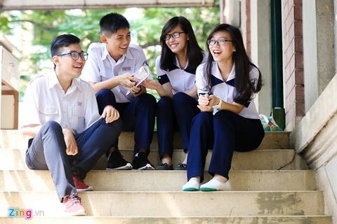 3.800 hoc sinh thi vao lop 6 truong chuyen Tran Dai Nghia hinh anh