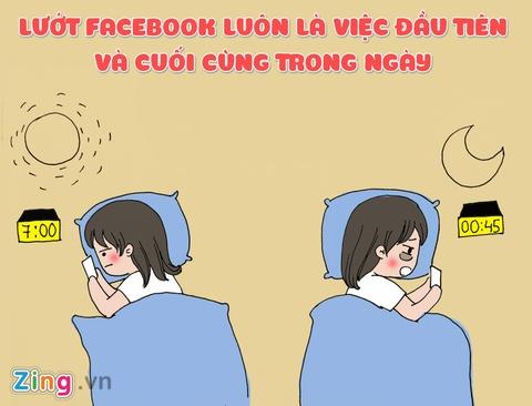 10 dau hieu 'khong the choi cai' cua hoi nghien Facebook hinh anh 5