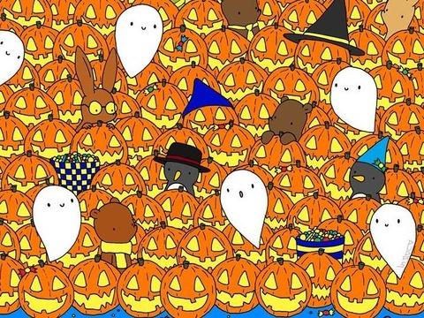Do ban tim thay ngoi sao giua nhung qua bi ngo Halloween hinh anh
