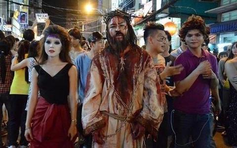 'Chang so ma quy ngay Halloween, chi lo het tien, khong co gau' hinh anh