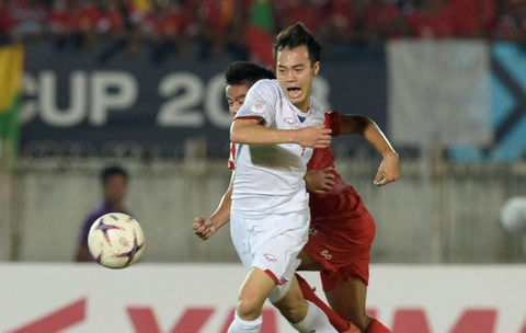 Văn Toàn buồn vì bàn thắng vào lưới Myanmar không được công nhận