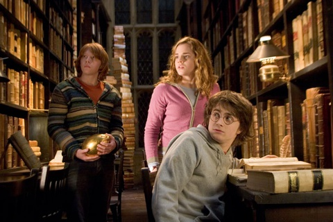 Thu vien lau doi o Anh tung xuat hien trong phim 'Harry Potter' hinh anh