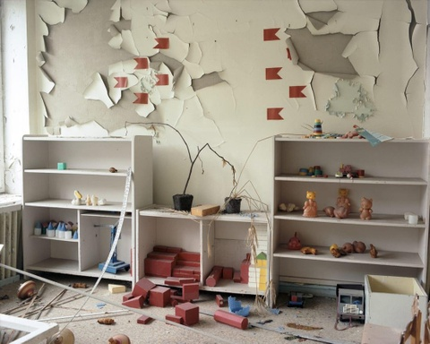 'Thanh pho ma' Pripyat hoang tan hon 30 nam sau tham hoa Chernobyl hinh anh 8